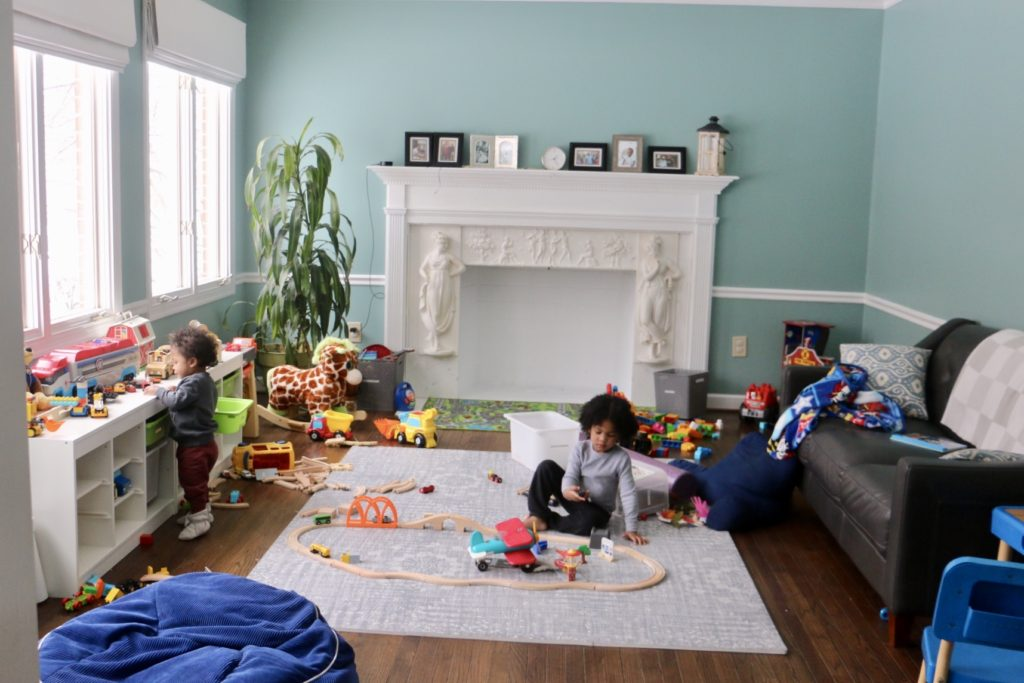 modern playroom reality