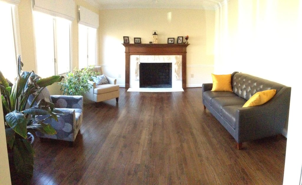living room before playroom