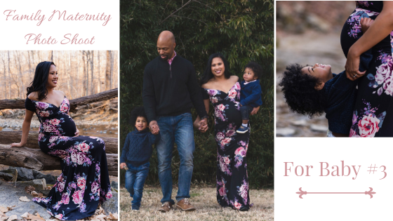 Family Maternity PhotoShoot pregnancy maryland DC