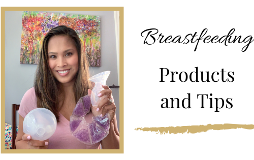 breastfeeding products and tips for new mom