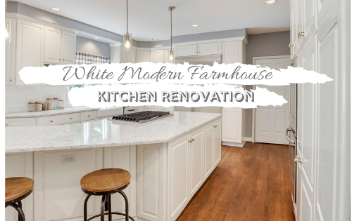 modern farmhouse kitchen renovation