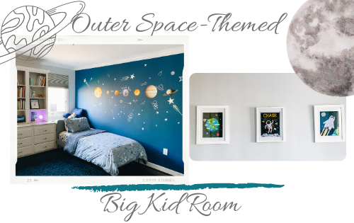 space themed big kid room